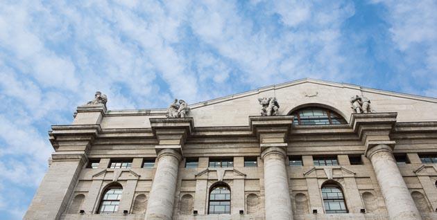 Borse Ue in rosso, Milano apre a -0,79%