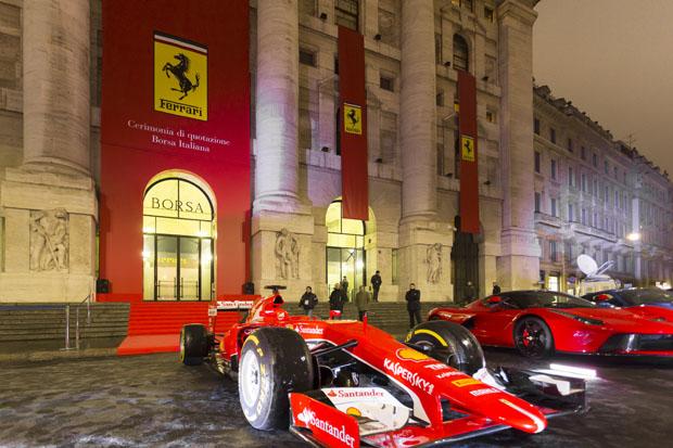 Analisi della quotazione delle azioni Ferrari