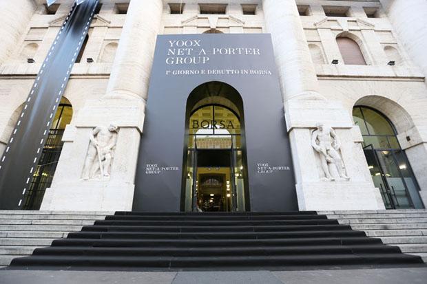 ultime tendenze del 2019 metà fuori abbastanza economico Debutta il nuovo titolo Yoox Net-a-Porter Group - Borsa Italiana