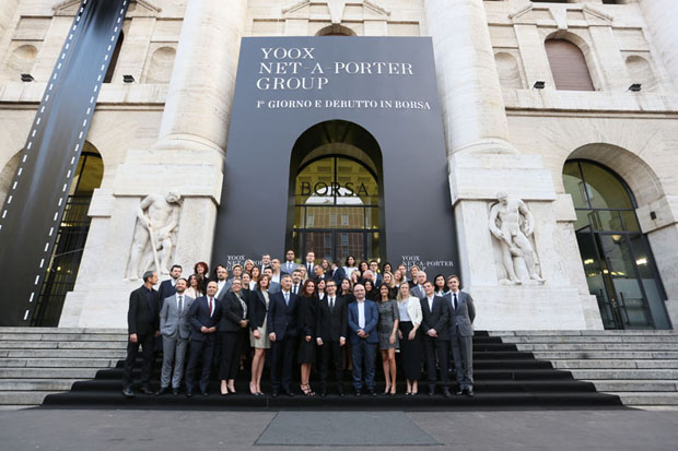 Uffici Yoox Milano : Debutta il nuovo titolo yoox net a porter group borsa italiana